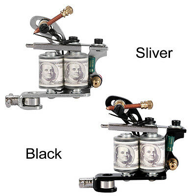 2 Colors Pro Tattoo Machine Reel Film Coil Gun Frame For Shader Supply Equipment