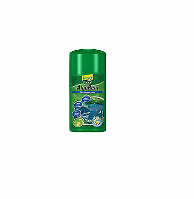 Tetra AlgoRem Garden Fish Pond Green Water Algae Treatment 1000ml
