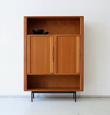 1(2) 70er DYRLUND TEAK HIGHBOARD REGAL KOMMODE DANISH 70s CABINET 60er 60s