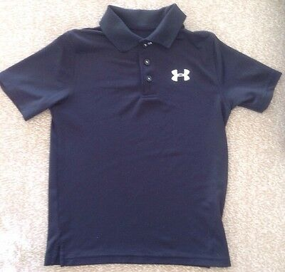 Under Armour Boys Black Shirt M