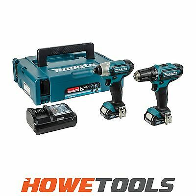 MAKITA CLX201AJ 10.8v Twin pack