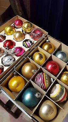 Vintage Christmas Ornaments Lot of 27