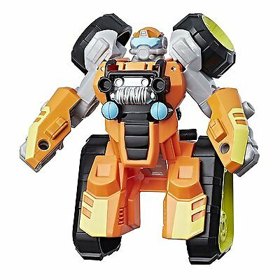 Brushfire X Playskool Heroes Transformers Rescue Bots Rescan All Terrain Action