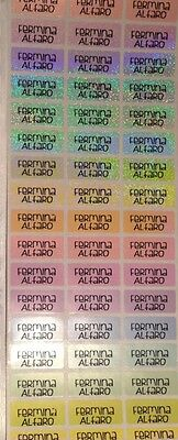 72 Shimmery Personalized Waterproof name labels for School, Daycare, Etc