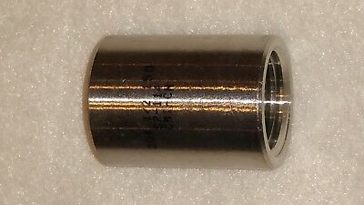 "1/2"" Inch Stainless Steel Coupling New NPT Grade 304 Class 150"