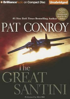 THE GREAT SANTINI unabridged audio book on CD by PAT CONROY (16 CDs / 19 Hours)