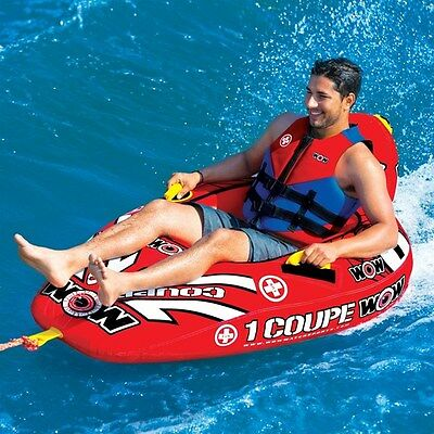 1 P coupe tube inflatable towable lounge water-ski fun float WOW item 15-1020