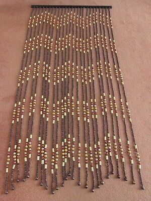 Victorian Wooden bead door curtain / divider