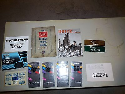 1952-1986 Buick Automobile Advertising!! Group Of 11 All For One Bid!! Group#e