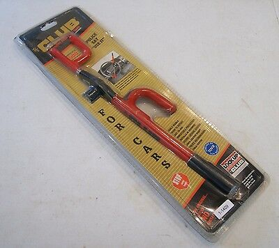 New ORIGINAL THE CLUB ANTI THEFT AUTO STEERING WHEEL LOCK MODEL 1000 NOS, A-1409