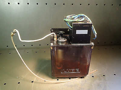 Lube Corp Lubematic Automatic Lubrication Pump Ways Oiler 1-Liter 120V Tested