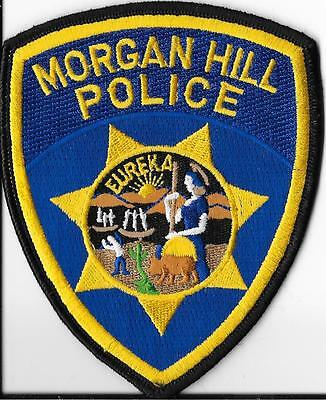 Morgan Hill Police Department, California Shoulder Patch