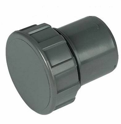 Bag of 5 Black Solvent Waste Pipe Knuckle 40mm 43mm