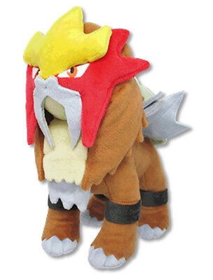 "Sanei All Star Collection Pokemon Sun & Moon 8"" Stuffed Plush Doll PP63 Entei"