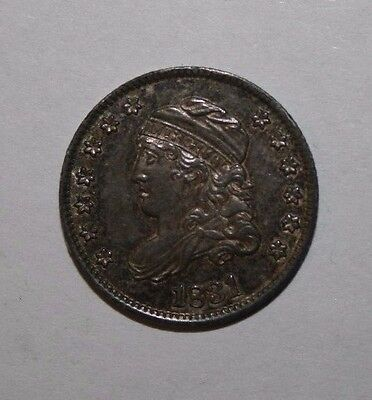 1831 Capped Bust Silver Half Dime TT26