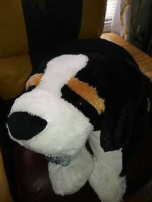 Pillow Chums Stuffed Animal Plush Huge Large Big Jumbo Bernese Mountain Dog 32""