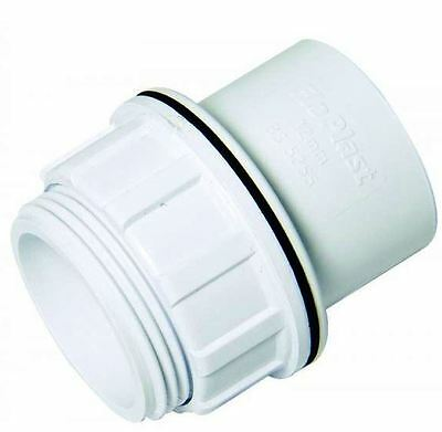 Solvent White 32mm (36mm) Tank Connector - Bag of 10