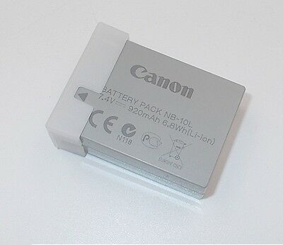 NEW OEM Canon NB-10L Li-Ion Battery for Canon PowerShot SX40 HS SX50HS IS Camera