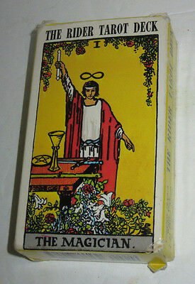 The Rider Tarot Deck  The Magician 1971 Complete 78-Card Waite Vintage 1971