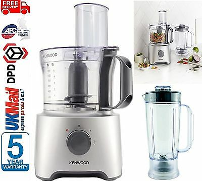 KENWOOD MultiPro Compact FDP301WH Food Processor - SILVER