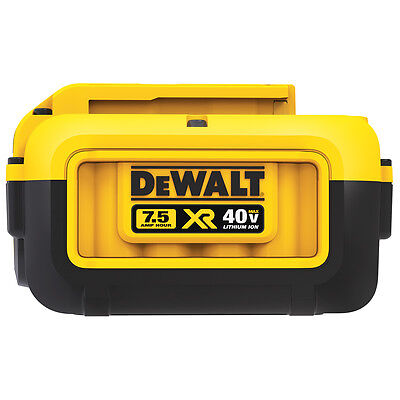DeWalt DCB407-2 40-Volt 7.5Ah Premium XR Lithium-Ion Battery Pack - 2pk