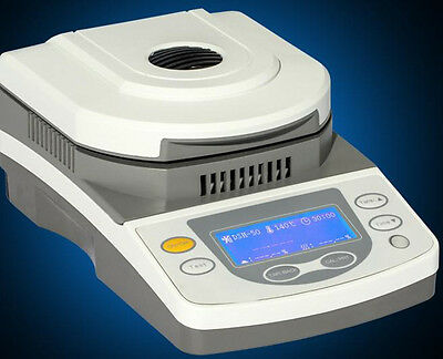 CE 10g Capacity Lab Moisture Analyzer/Tester with Halogen Heating 220V/110V