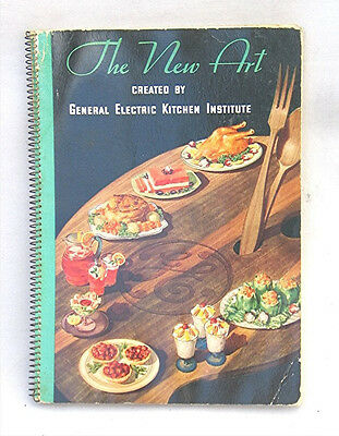 Vintage 1935  General Electric Cook Book; The New Art