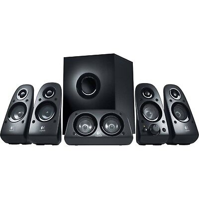 Logitech Z506 Stereo Surround Sound 5.1 Channel Speakers Desktop Computer