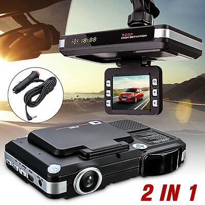 2in1 MFP 5MP AUTO DVR Kamera Recorder & Radar Laser Geschwindigkeit Finder