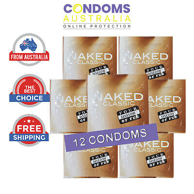 Four Seasons Naked Classic Condoms 12 Condom (Loose Pack) FREE SHIPPING
