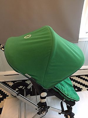 Bugaboo Cameleon Green Fleece Canopy Fabric Sun Shade