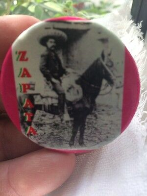 Vintage Zapata Badge