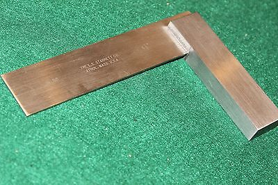 Vintage STARRETT No.20 precision hardened toolmakers square NMINT condition.