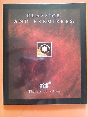 Booklet*-Montblanc The Art Of Writing-Number of pages:12 #1