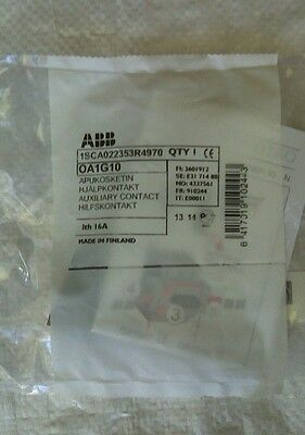 ABB 1SCA022353R4970 OA1G10 Auxiliary Contact 16A 690V New Made In Finland