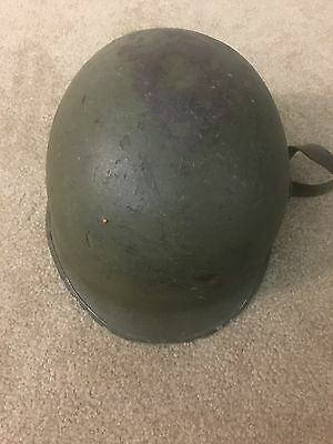 WW2? Helmet Shell with Chin Strap