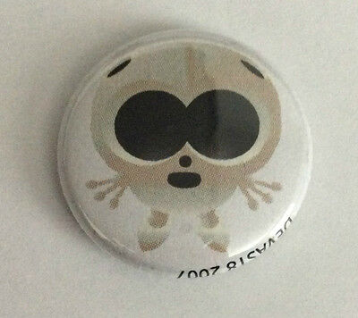 DEVAST8 1-inch BADGE Button Pin Alien Toon NEW OFFICIAL MERCHANDISE Paranormal