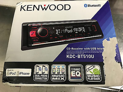 kenwood autoradio bluetooth 1 din stereo auto cd mp3 usb. Black Bedroom Furniture Sets. Home Design Ideas