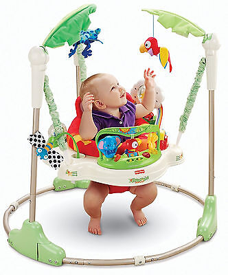 Fisher-Price Rainforest Baby Jumperoo New