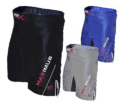 MMA Shorts Fight Shorts Grappling Short Kick Boxing Cage Fighting Shorts ONE-X