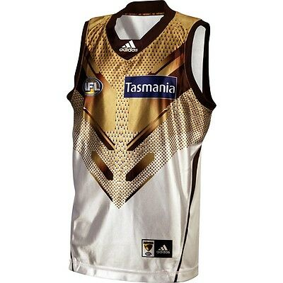 2015 AFL ADIDAS CLASH GUERNSEY Official HAWKS HAWTHORN JERSEY S/M/L NEW/TAGS