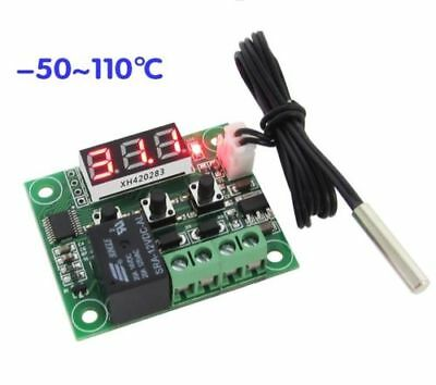 -50-110°C W1209 Digital thermostat Temperature Control Switch 12V + sensor RF
