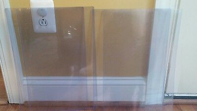 Lot of 4 11 x 17 Clear Poly Poster Art Print Sleeves 11x17 photo poster