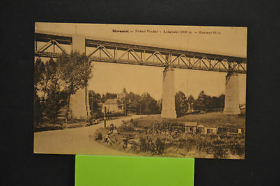 Cp  Ancienne Carte Postale -  Moresnet - Grand Viaduc - Edit A Baltus - Ttb Etat
