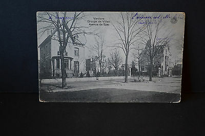 Cp  Ancienne Carte Postale - Verviers -Villas Avenue De Spa - G Hermans - Tb