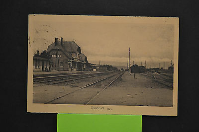 Cp  Ancienne Carte Postale - Sourbrodt - La Gare - Editions E Mathieu - Ttb Etat