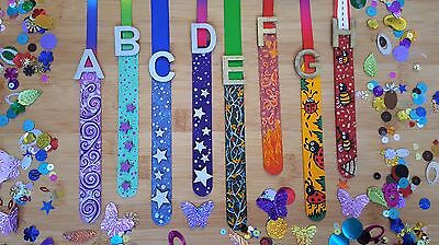 PERSONALISED Children's Kids Handpainted Wooden Bookmarks Encourages Reading Fun