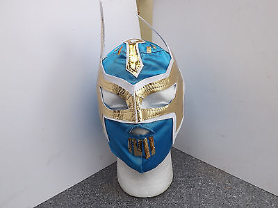kids, child classic light blue Sin Cara Replica wrestling Mask Lucha Libre,Wwe