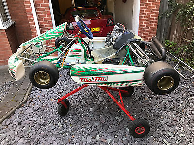 TONY KART 2011 (done 1 race meeting only!)  ROTAX MAX SENIOR
