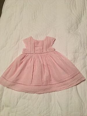 Baby Girl Pink Next Dress, Size 3 Months
